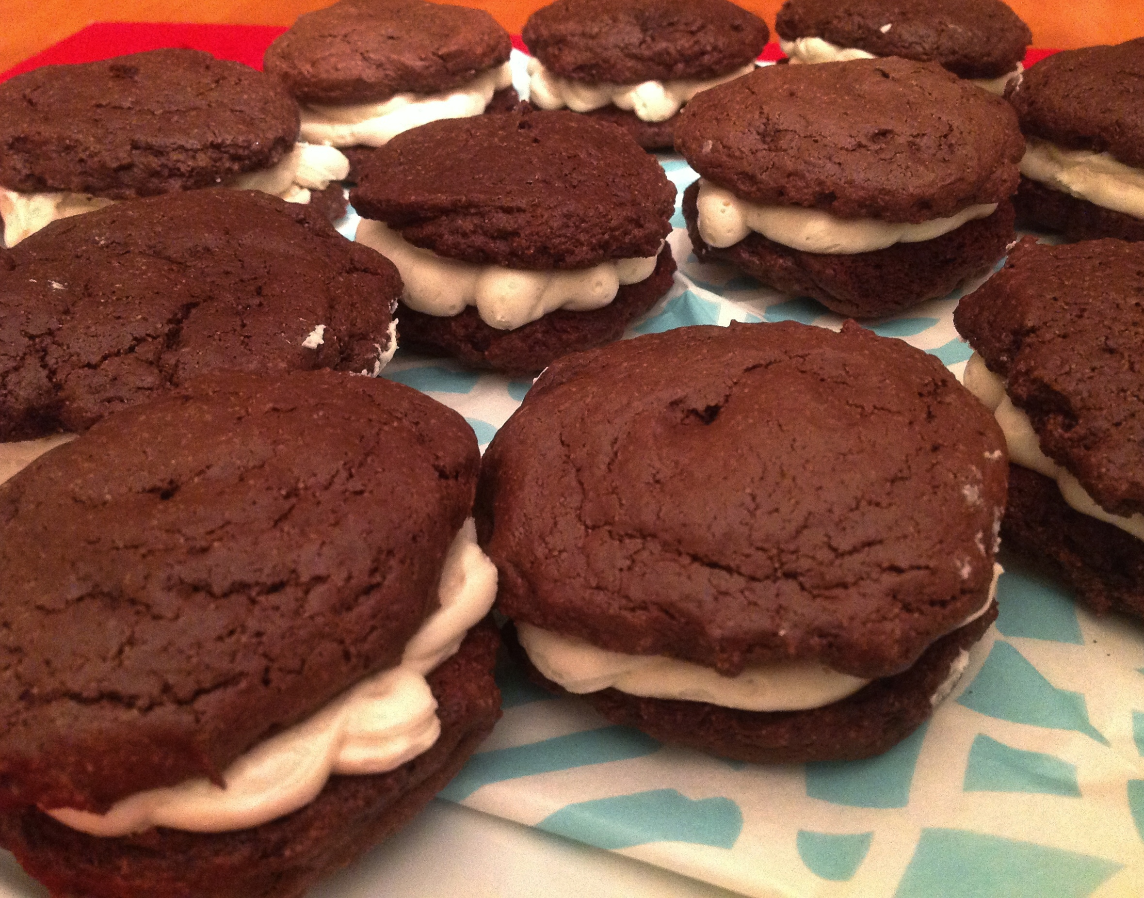 Irish Cream Whoopie Pies