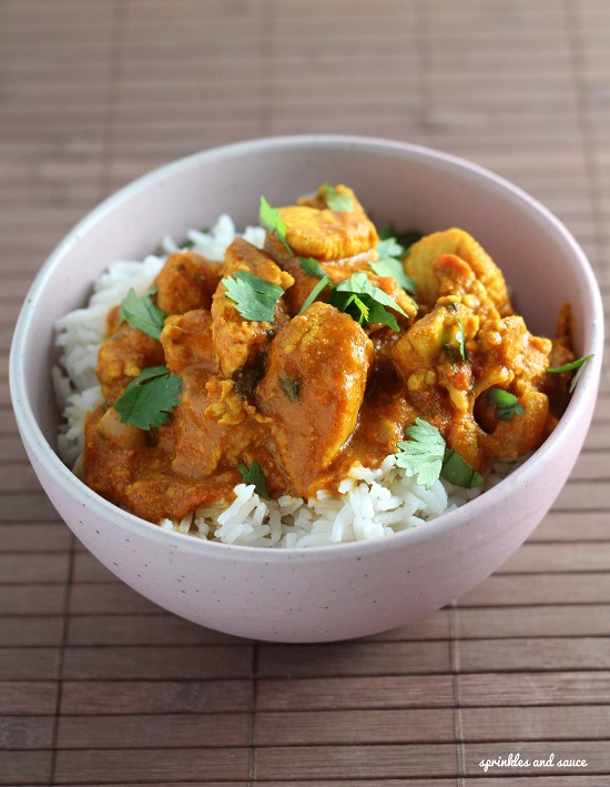 James's Chicken Curry With Cashews Recipes — Dishmaps