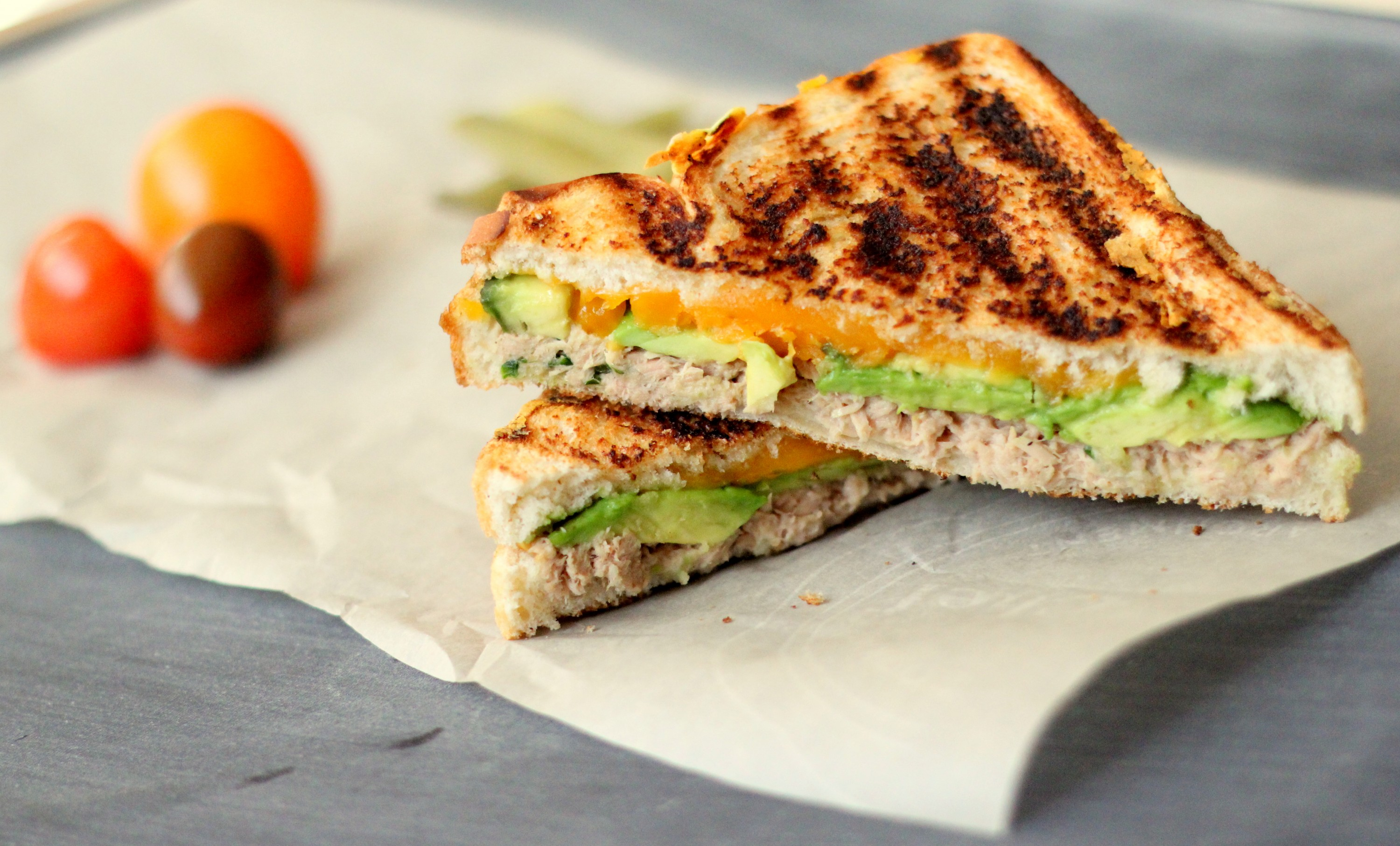 Grilled Tuna Avocado Melt1