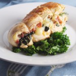 Chicken Stuffed with Prosciutto, Mozzarella and Basil