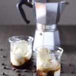 Affogato (Ice Cream or Gelato with Espresso)