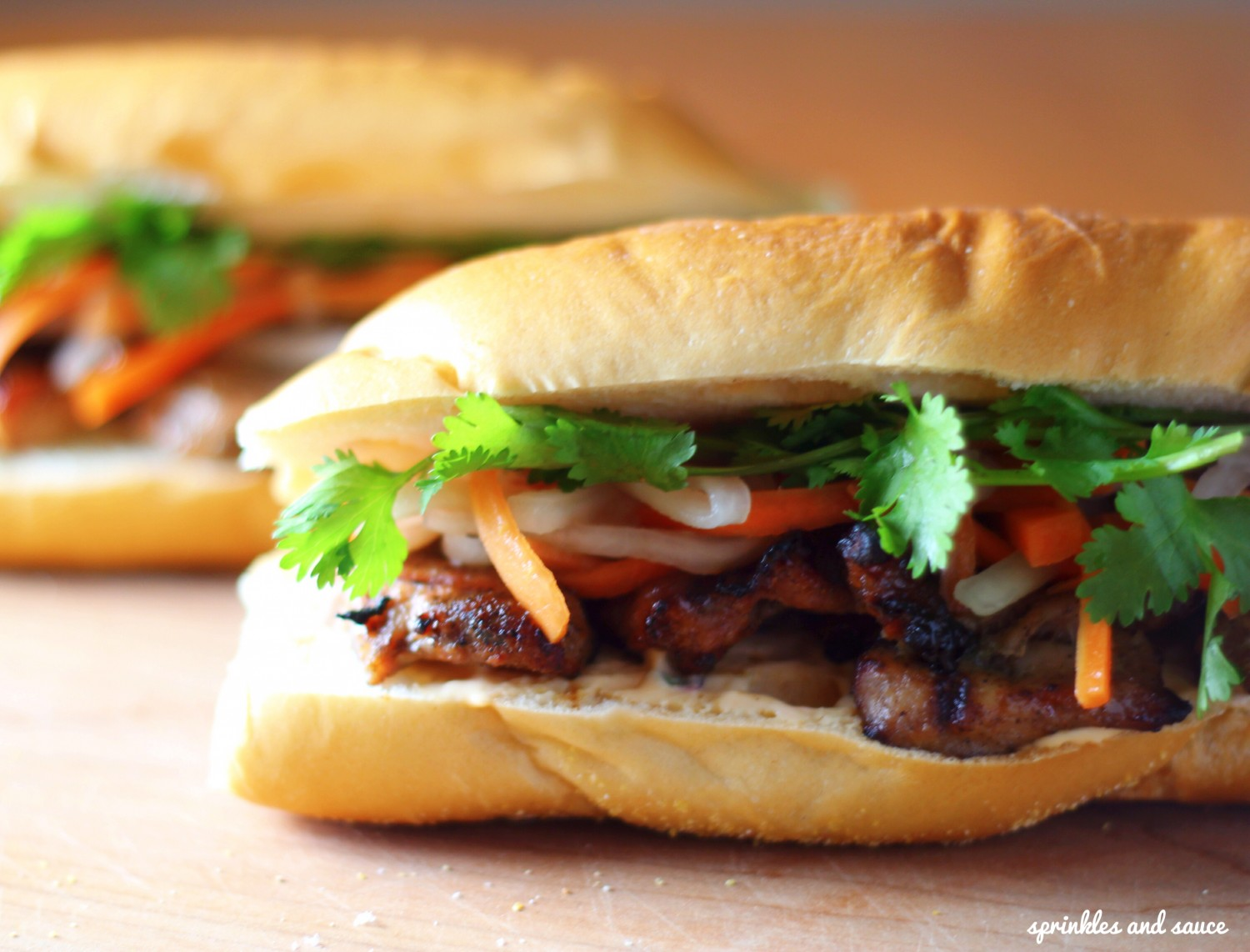 Lemongrass Pork Banh Mi1