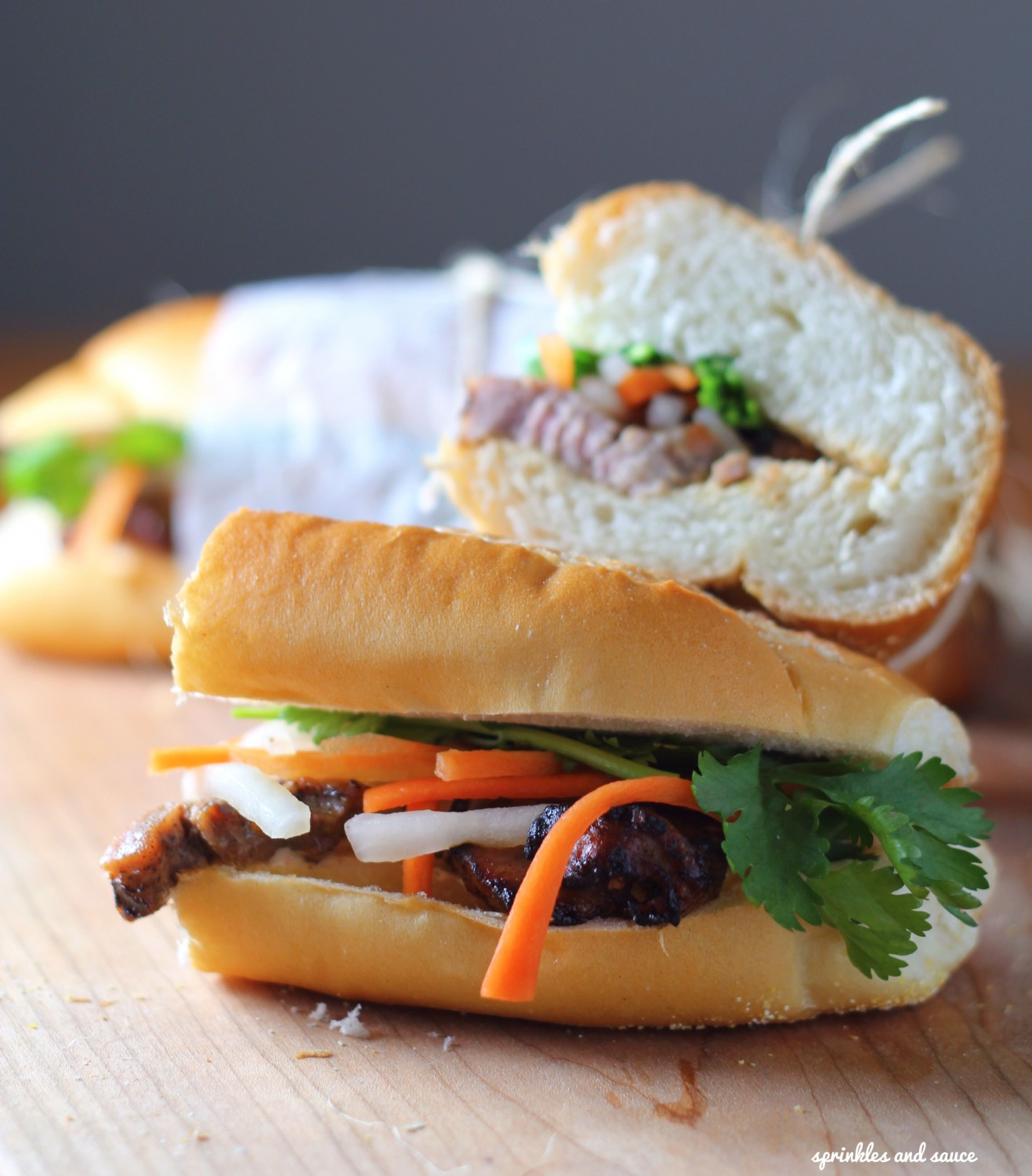 Lemongrass Pork Banh Mi2