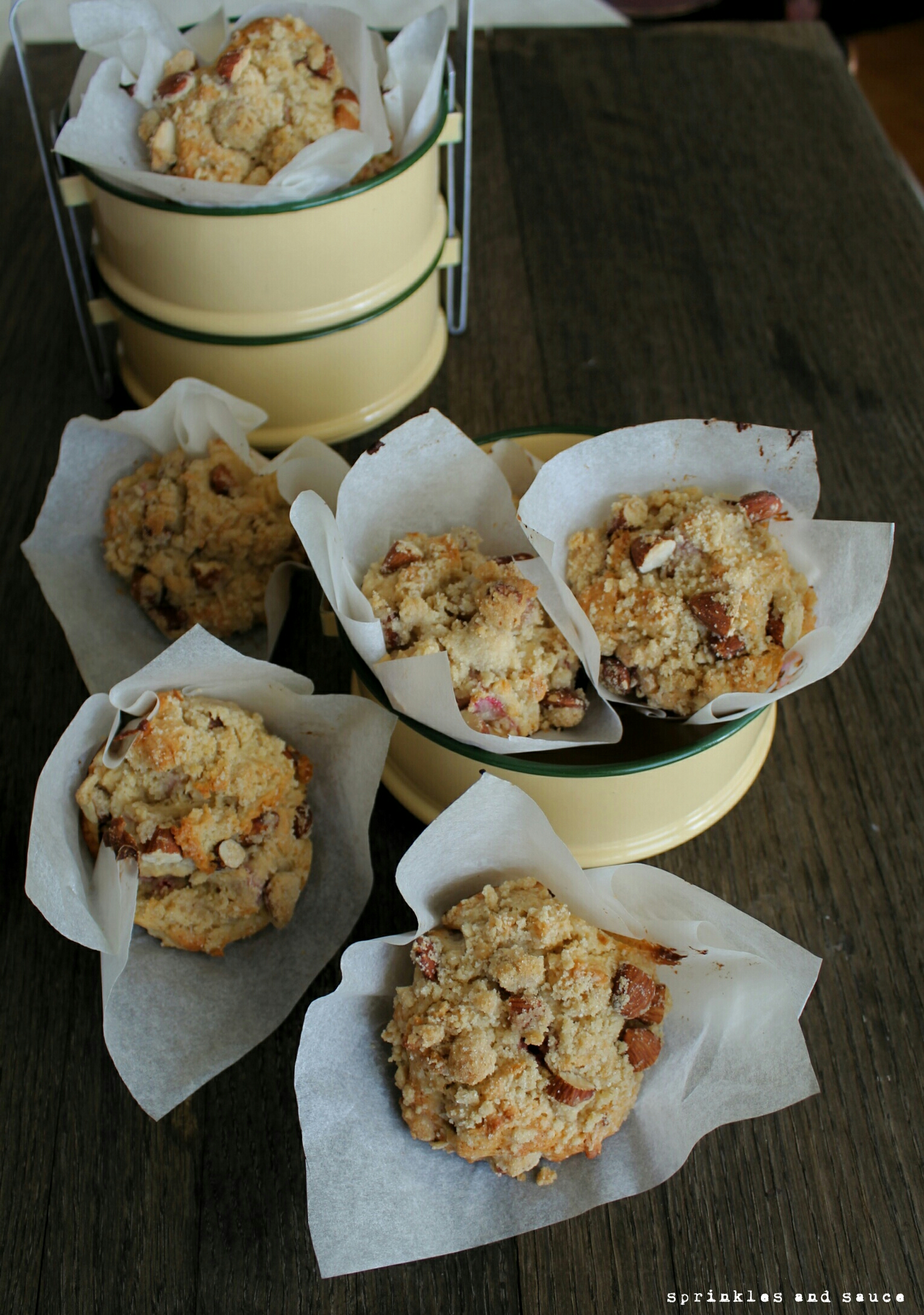 Rhubarb Muffins With Cardamom Streusel Recipes — Dishmaps