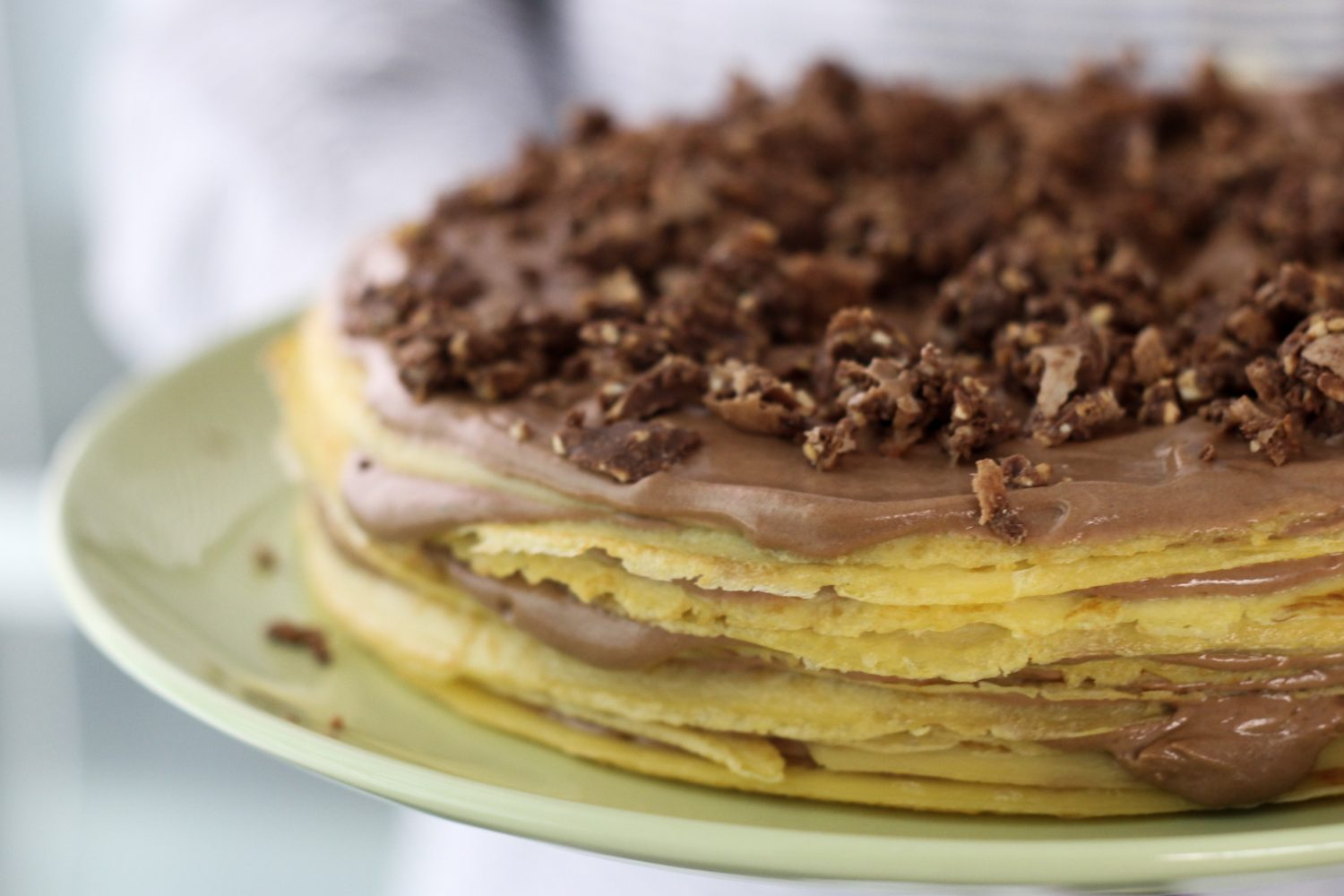 how to make nutella sauce for crepes
